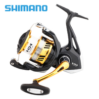 100% Original Shimano SAHARA FI 1000 C2000HGS 2500HGS C3000HG 4000XG Spinning Fishing Reel 4+1BBX Ship Saltewater Fishing Reel