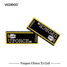 5 sztuk partia VOOPOO UFORCE T2 cewki Voopoo przeciągnij zestaw Voopoo przeciągnij Mini zestaw wymiana cewki U2 U4 U6 U8 N1 N2 N3 R1 D4 P2 cewka z siatki tanie tanio VOOPOO Drag 2 Drag Mini Kit VOOPOO UFORCE T2 Coil DS Dual