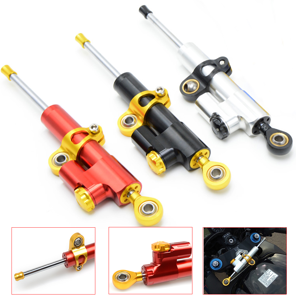 2018 Motorcycle Damper Steering StabilizerLinear Reversed Safety For BMW R1200R R1200RT R1200S R1200ST S1000R S1000RR C600Sport free shipping front and rear brake pads set for bmw r1200gs 04 09 r1200rt 05 09 r1200st 03 08 r1200s 06 08 r1200r 06 09