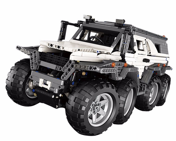 LEPIN 23011 Technic Series Off-road vehicle Model MOC Assembling Building Kits Block Bricks Compatible 5360 toy new lepin 22001 pirate ship imperial warships model building kits block briks toys gift 1717pcs