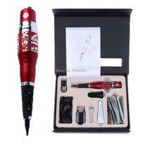 Gratis Verzending Taiwan Originele Rode Draak Machine Elektrische Tattoo Wenkbrauw Make Pen Voor Permanente Make Wenkbrauw Eyeliner Lip