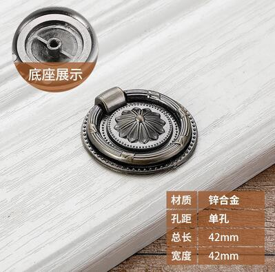 739 5 Color Soft Leather Door Handles For Cabinet Wardrobe Cupboard Drawer Pull Knobs Furniture Kitchen Hardware  Decorative Accessories