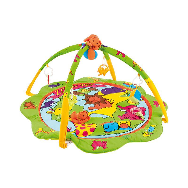 Play Mat Canpol Babies Zoo, 0+ sassy seat doorway jumper 5 toys with musical play mat
