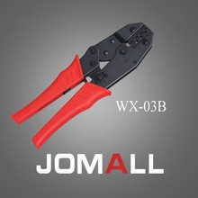 Купить с кэшбэком WX-03B crimping tool crimping plier 2 multi tool tools hands Ratchet Crimping Plier (European Style)