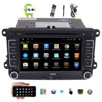Android 6.0 Quad core Double Din Car Stereo 7'' Auto Radio Car dvd Player GPS Bluetooth Wifi Cam In Touchscreen Free Map Canbus