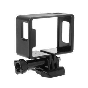 Image 2 - 1 Set Koruyucu Çerçeve Sınır Yan Standart Shell Konut Case Toka Montaj Aksesuarları için SJ6000 SJ4000 Wifi Eylem Kamera Kamera
