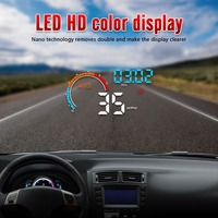 2019 Universal Car HUB OBD2/GPS Head Up Display Car Speed Projector Vehicle Windshield Navigation OBD Speedometer Hud D2500