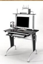 Computer desk.. Toughened glass desk.