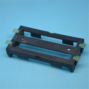 Image 5 - Dual 18650 Battery Cell Holder SMD Bronze Pins Shell Case Box Tab Dual Double