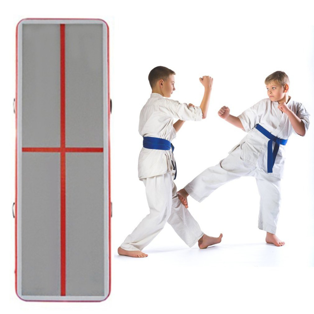 OUTAD Taekwondo Cushion Inflatable Mat Gymnastics Air Cushion For Training Exercise Gym Martial Arts Special Effects Parkour gym цена
