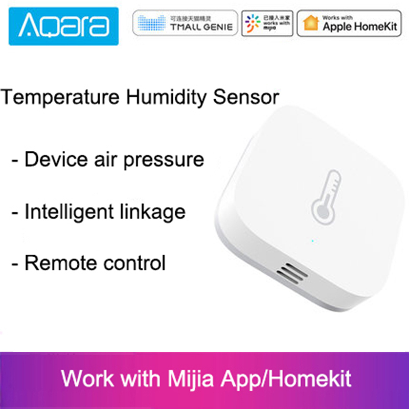 Hot Aqara Smart Air Pressure Temperature Humidity Environment Sensor Work With Android IOS APP Control For Xiaomi Mi Home App