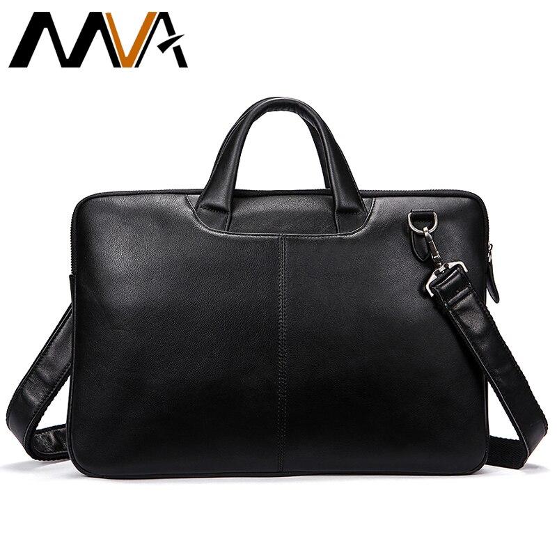 Sac Messenger hommes mallette en cuir pour homme homme véritable housses d'ordinateur en cuir hommes d'affaires sac à main bureau sacs à bandoulière pour hommes 392
