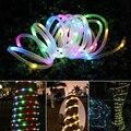 7M 12M Garten Solar Garland Beleuchtung LED String Fairy Lichter Outdoor Weihnachten Licht Kette Dekoration Wasserdicht für Urlaub-in Lichterketten aus Licht & Beleuchtung bei