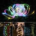 7M 12M Solare del Giardino Ghirlanda di Illuminazione A LED Luci Leggiadramente Della Stringa Di Natale All'aperto Luce Catena Della Decorazione Impermeabile per la Festa