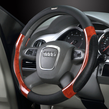 car set special Cool hand car steering wheel cover k2 fabia 38 cm universally A4 A6 Q5 Q3 X3 X5 IS250 K5 steering  wheel  wrap цена