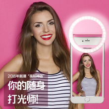 New Style Mobile Phone Beauty Fill Light Lens USB Charging Selfie Artifact Led round Take Pictures Flash Wholesale