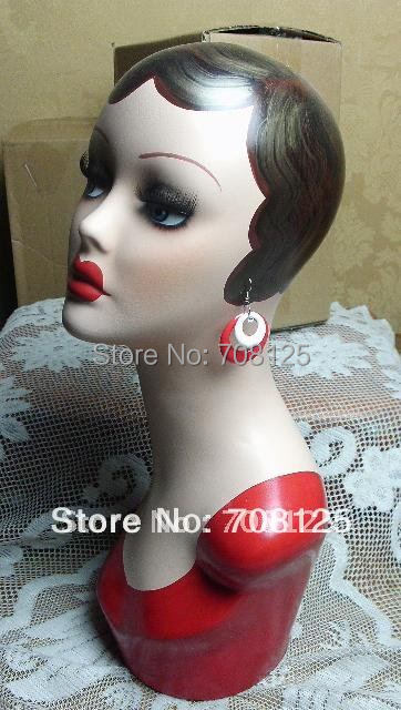 Vintage Hand Painted Earring Mannequin Head For Jewelry And Hat Display In Mannequins From Home Garden On Aliexpress Alibaba Group
