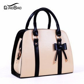 QIAOBAO 2017 NEW ARRIVAL fashion style candy color handbags single shoulder bag female nice bag,FREE SHIPPING