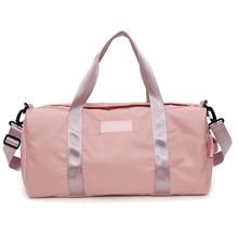 купить New Sport Gym Bag Dry Wet Large Capacity Outdoor Travel Handbag Sac De Lady Men Training Yoga Fitness Bag Duffle Bags for Women онлайн