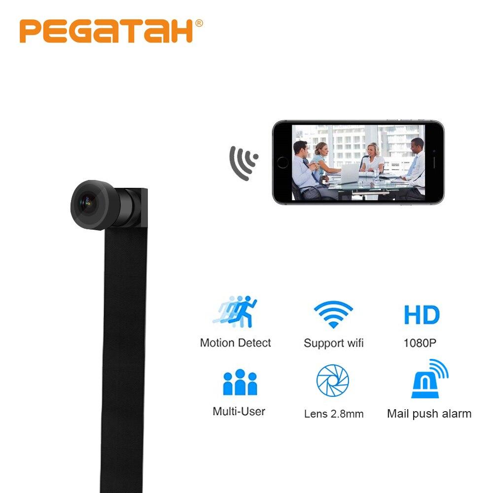 Mini Wifi Camera Remote Control DIY P2P 128G TF Card slot IR Sound Video Recording Motion Detection Mini Micro Camcorder