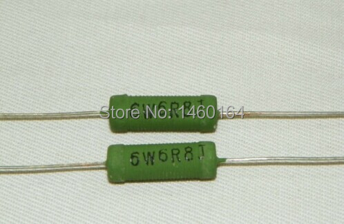 Wirewound resistors RX21 5W 6.8 ohm,(40 PCS a sale ),Welcome message ...