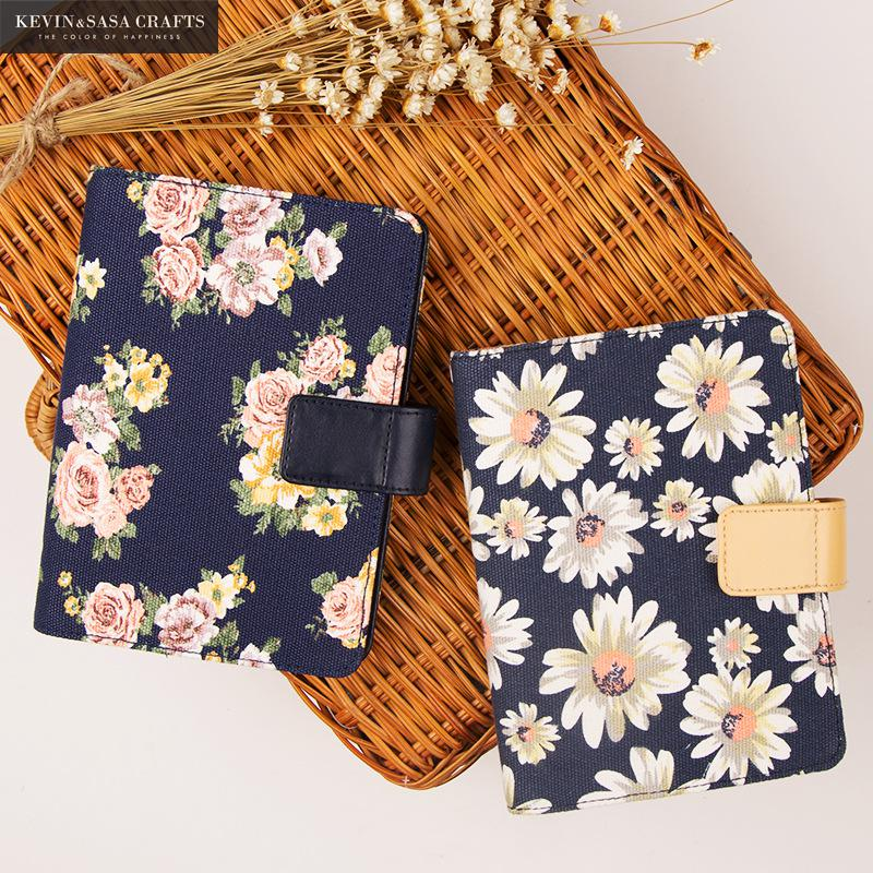 Flower Notebook A6 Luxury Inner 120 Sheets 2017 Planner Sketchbook Diary Note Book Kawaii Journal Stationery School Supplies fabric notebook luxury blank inner 120 sheets 17 10cm 2017 planner sketchbook diary note book journal stationery school supplies