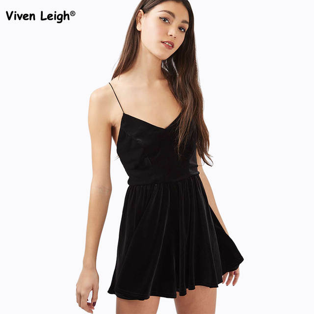 99657dc9c4c placeholder Brand New Women Playsuit Sexy Flare Velvet Spaghetti Strape Romper  Urban Outfitters Pleated Shorts
