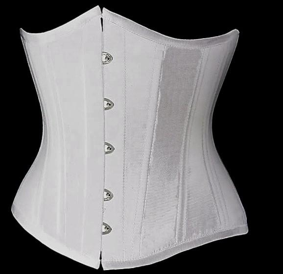 Black-Underbust-Corset-Plus-Size-Lingerie-Waist-Training-Corsets-For-Women-Top-Bustier-Push-Up-Waist-Cincher