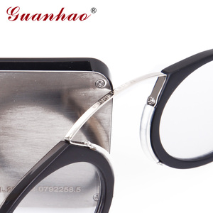 Image 2 - Guanhao Magnetic Reading Glasses With Case Nose Clip Round Optical Frame Diopter Prescription Eyewear Men Women Portable Glasses