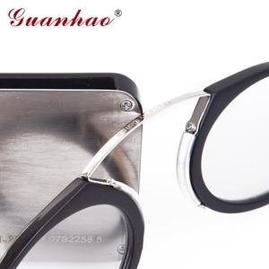 Image 2 - Guanhao Magnetische Leesbril Met Case Neus Clip Ronde Optische Frame Dioptrie Recept Brillen Mannen Vrouwen Draagbare Bril