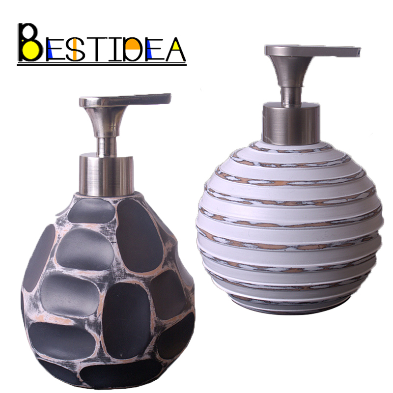 Stone Style Deck Mounted Kitchen Sink Counter Top Soap Dispenser Built In  Hand Soap Dispenser Pump