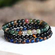 Natural Stone Beads Bracelet for Men