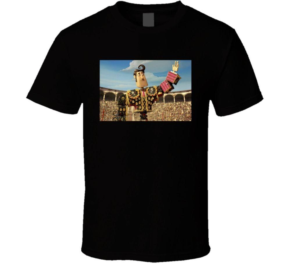 The Book of Life Manolo Matador Sanchez Bullfighter T Shirt Summer Fashion Funny Print T-Shirts Round Neck Crazy Top Tee