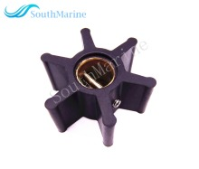 Impeller 09 808B 22405 0001 500121 50021 3586496 875583 7 21951342  for Jabsco / Johnson / Volvo Penta Engine Pump , Neoprene