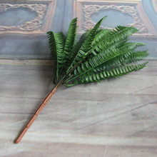 7 Branches Green Fake Lifelike Plants Floral Decor Artificial Persian Leaves Leaf Grass Flower Decoration