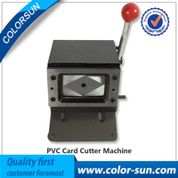 Manual PVC Card Cutting Machine Business Name Credit ID Card Cutter 86x54mm 1mm