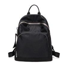 Черный Новинка для девочек двойной сумки на плечо нейлон Большой Ёмкость школьный Лето туристические рюкзаки Водонепроницаемый ранец сумки