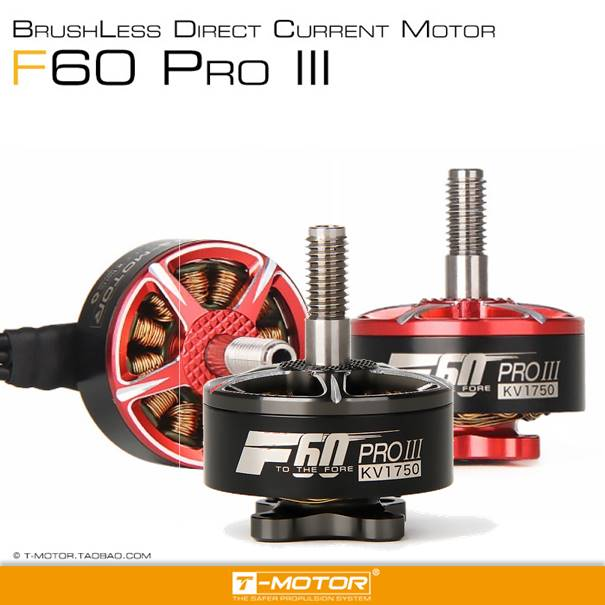 New Arrival T-motor Tmotor F60 PRO III 2207 1750/2500/2700kv Brushless Electrical Motor For FPV Racing Drone FPV Freestyle Frame