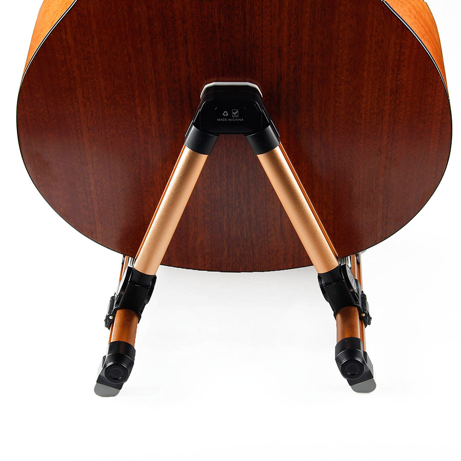 Image 3 - BATESMUSIC Guitar Stand Universal Folding A Frame Use for Acoustic Electric Guitars Guitar Floor Stand Holder-in Guitar Parts & Accessories from Sports & Entertainment