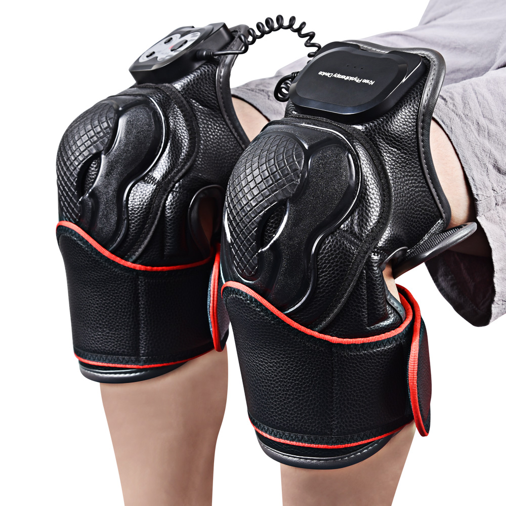 Knee and Joint Physiotherapy Massager Electric Magnetic Vibration Heating Massage Pain Relief Rehabilitation Equipment
