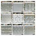 Матовая пленка на оконное стекло  ширина 45 см * длина 100 см  матовая пленка на оконное стекло  самоклеящиеся стеклянные наклейки для домашнег...