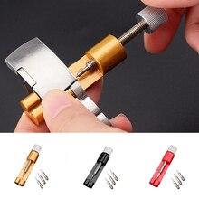 лучшая цена Metal Slit Pins Band Remover Professional Adjuster Link Bracelet Kit Repair Tools Watch Strap #5