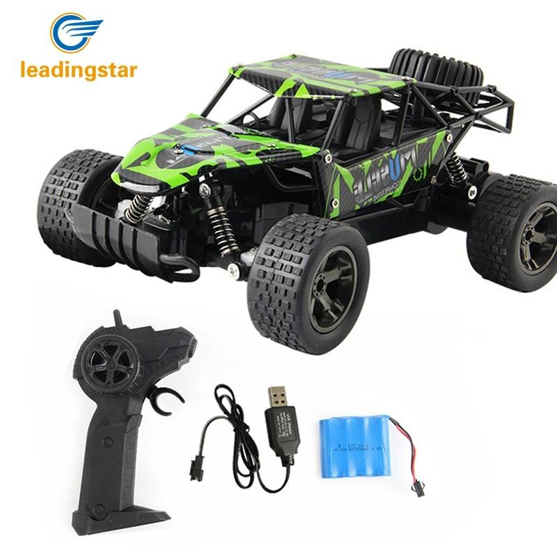 LeadingStar Children Mini Remote Control Car High-speed Cross-country Climbing SUV Electric Vehicle Toy Gift
