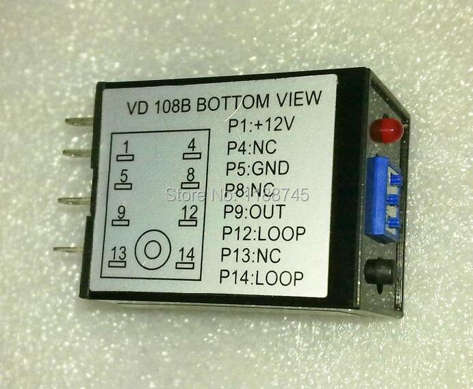 Vehicle Loop Detector For Sliding Gate/operator Traffic Signal Control 4-level Sensitivity