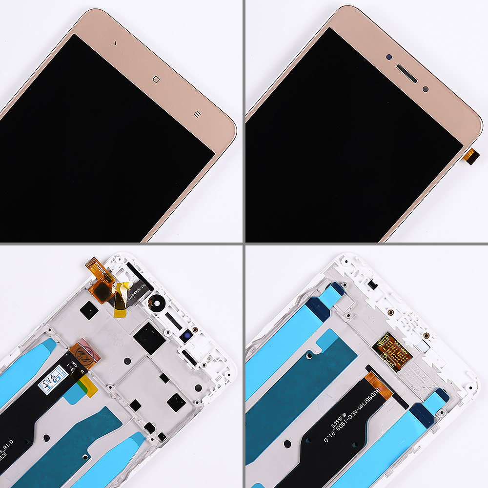 Lcd display for Xiaomi Redmi Note 4 Global / Note 4X (CPU:Snapdragon 625) touch screen digitizer Assembly Frame 10 Multi-Touch
