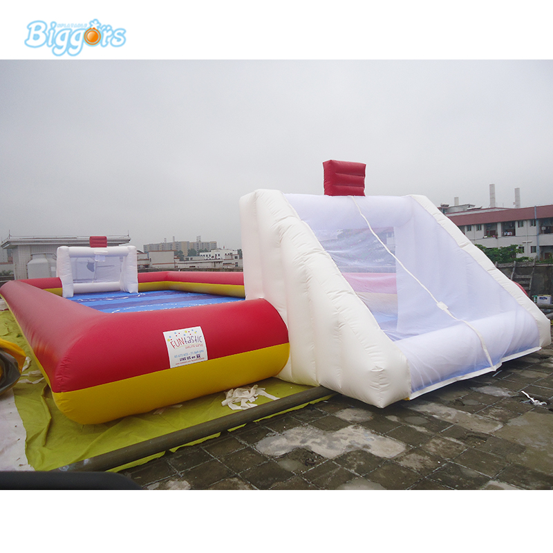 Free blowers included inflatable football field cheap for sale fit for soccer arena toy цена