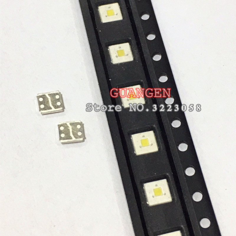 100pcs-lumens-led-backlight-flip-chip-led-24w-3v-3535-cool-white-153lm-for-samsung-led-lcd-backlight-tv-application