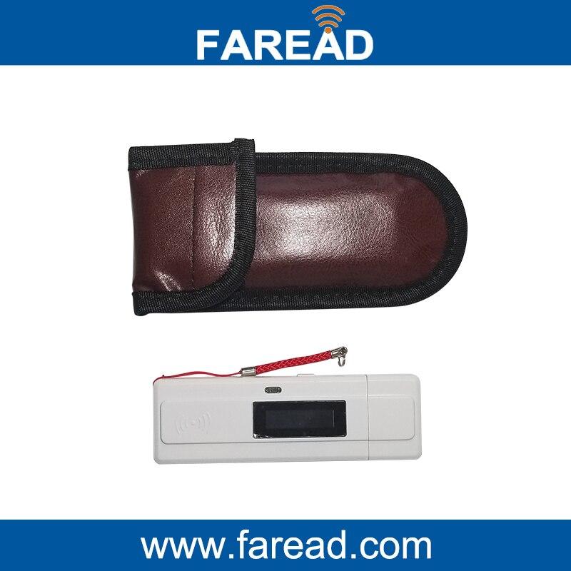 Factory High scan-sensitivity pocket 134.2Khz RFID reader/scanner with USB for vet microchip reader