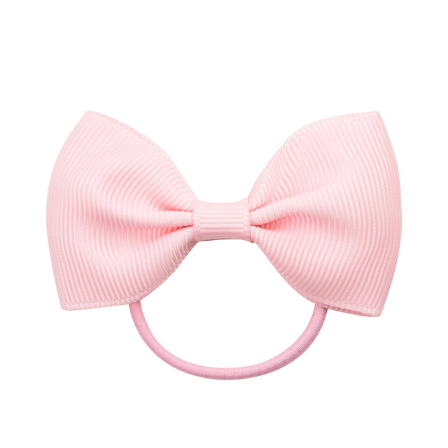Details about  /Elastic Rubber Band Head Rope Mini Ribbon Bow Tie Girls Hair Accessories