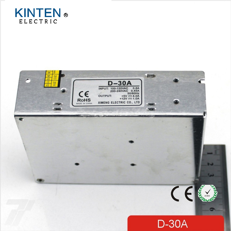 Output Voltage 5V 12V AC-DC Switching Power Supply D-30A 30W Dual Output Led Driver полка дл обуви мастер лана 1п пол 1п венге мст пол 1п вм 16
